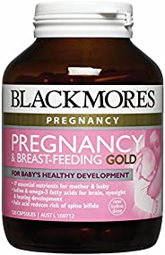 Blackmores Pregnancy & Breast-Feeding Gold (60 Capsu