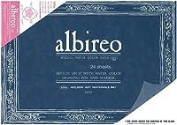 ホルベイン アルビレオ水彩紙 ブロック 218g 24枚とじ F6 AB-F6 270-238