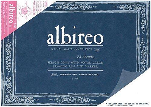 ホルベイン アルビレオ水彩紙 ブロック 218g 24枚とじ AB-B5 270-233