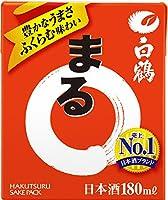 白鶴 サケパック まる [ 日本酒 兵庫県 180ml×30本 ]