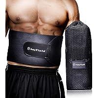 AnyField シェイプアップベルト エクササイズベルト 発汗ダイエットベルト フリーサイズ 加圧 姿勢矯正 男女兼用