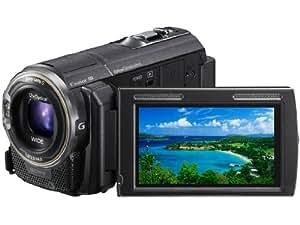 SONY ビデオカメラ Handycam PJ590V 内蔵メモリ64GB ブラック HDR-PJ590V