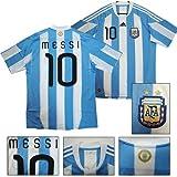 adidas 2010 アルゼンチン代表 #10 メッシネームホームモデルユニフォーム【ワールドカップモデル/アディダス】【メッシー、マラドーナ】