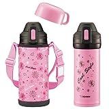 ZOJIRUSHI(象印) ステンレスボトル 0.82L 水筒 2wayコップ&ダイレクト SP-HA08-PF フローラルピンク『4974305208347』