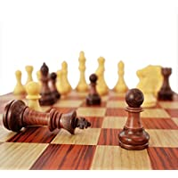 Kidami folding magnetic chess set, with portable cute storage bags for easy carry, 12.4 x 10.6 x 0.8 Inch