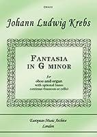 Fantasia In G Minor For Oboe And Organ/Piano (opt. Bassoon/Cello) / オーボエとオルガン/ピアノのための幻想曲ト短調 (Opt.ファゴット/チェロ)