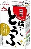 森永乳業 絹ごし豆腐 290g ケース(6個入) ※クール便配送