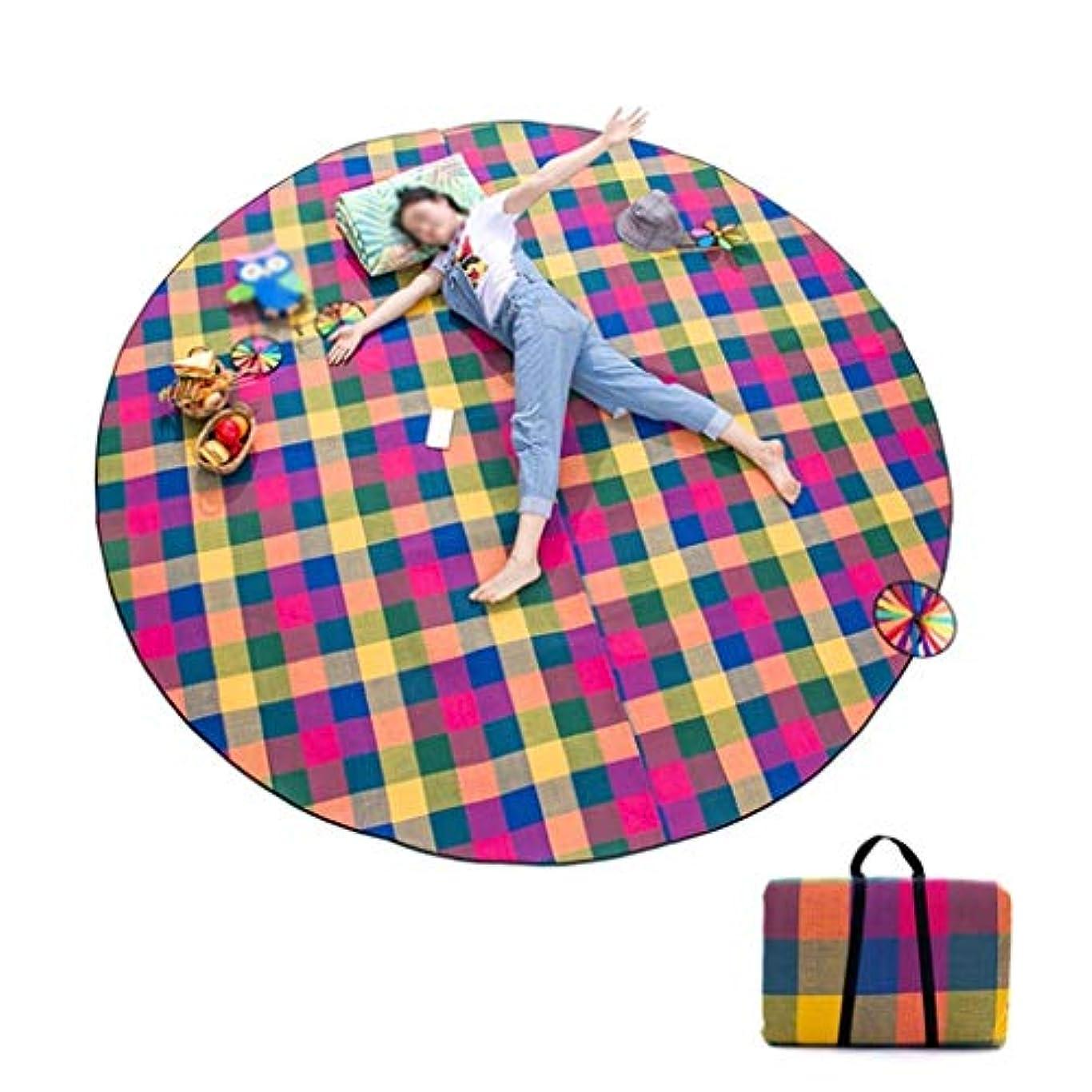 子豚かもしれない助けになるピクニック毛布、軽くてコンパクトなピクニック旅行毛布赤ちゃんクロールマットビーチカーペットA (設計 : B)