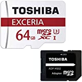 東芝 microSDXC 64GB Class10 UHS-I 防水 耐X線 TOSHIBA 海外パッケージ