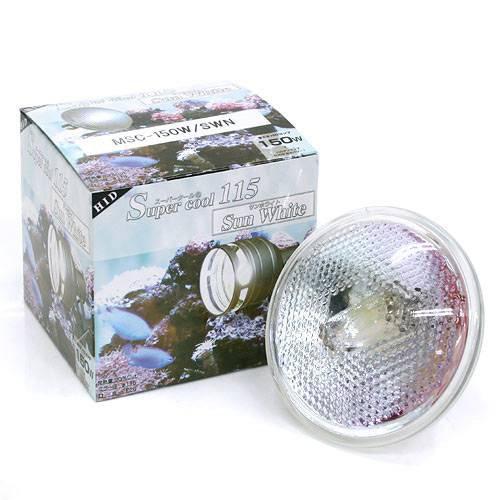 交換球 スーパークール115球 サンホワイト集光/SWN 水槽用照明 ライト 熱帯魚 海水魚