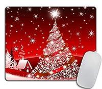 クリスマス装飾背景滑り止めラバーマウスパッドマウスパッド-クリスマスギフト