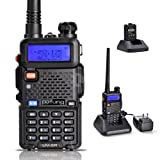 Pofung UV-5R 136-174/400-480 MHz Dual-Band DTMF CTCSS DCS FM Ham Two Way Radio by pofung [並行輸入品]