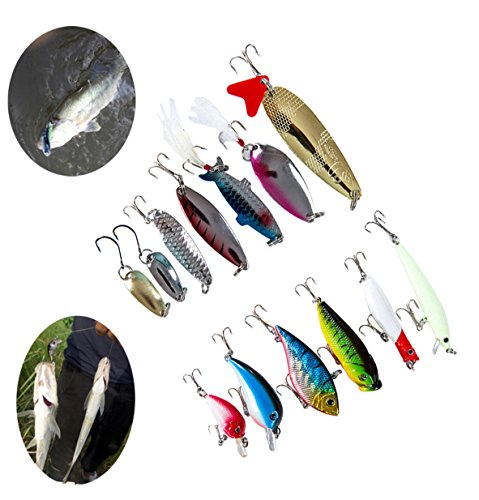 100pcs Artificial Fishing Lure Set Hard Soft Bait Minnow Spoon Fishing Tackle Box Plastic Fake Baits Sweetcorn/Beads/Worm Lures Imitation Baits Carp Fishing Gear Kit