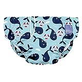 Bambino Mio, Reusable Swim Diaper, Whale Wharf, Extra Large (2 Years+)