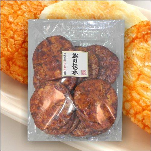 越後製菓 越の伝承 たまり煎餅 12枚 新潟産コシヒカリ使用