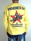 PANDIESTA JAPAN (パンディエスタ ジャパン) パンディエスタ アーミー ロングスリーブ Tシャツ 刺繍 /536202 イエローXXL