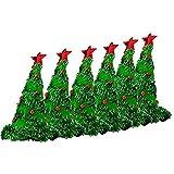 Light Up Christmas Tree Hat – Green Pkg / 6