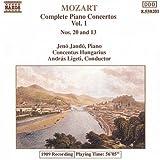 Mozart: Piano Concerti 13 & 20 (2013-05-03)