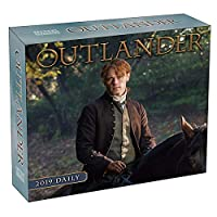 Outlander 2019 デイリーデスクボックスカレンダー