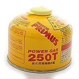 イワタニプリムス(イワタニプリムス) イワタニプリムス IWATANI-PRIMUS ハイパワーガス(小) Power Gas 250T IP-250T キャンプ用品 ストーブ (Men's、Lady's)