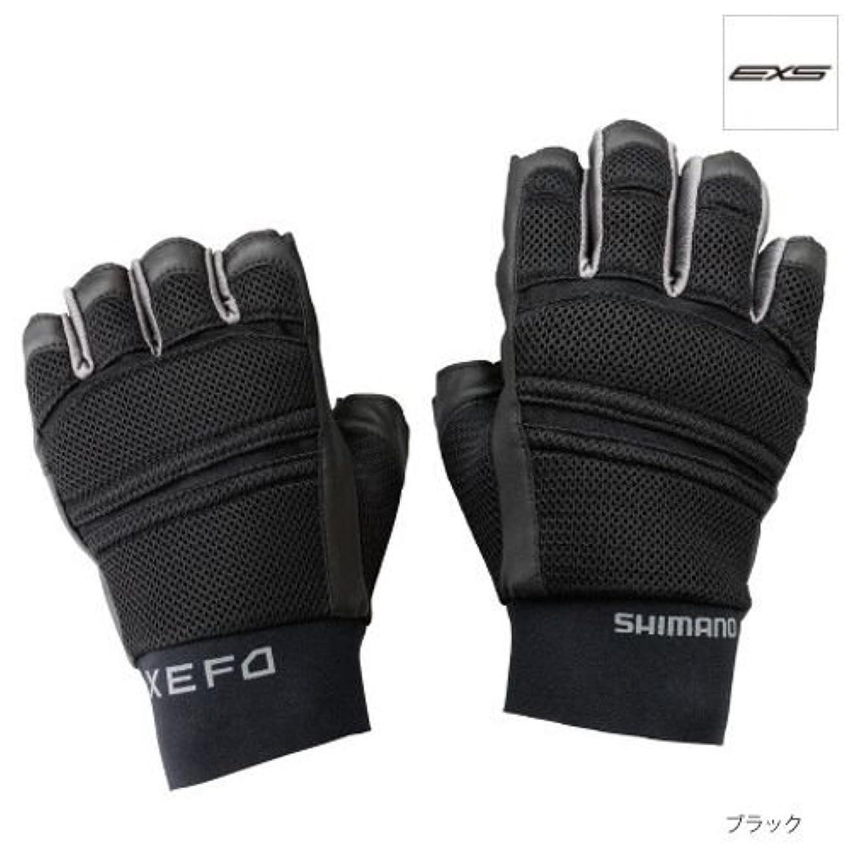 取り除く泣き叫ぶ趣味シマノ XEFO ランガングローブ GL-222M ブラック RL