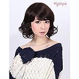 [Wigs2you] 日本製高級ファイバー使用 ナチュラルフルウィッグ W-1003 Charcoal size 8