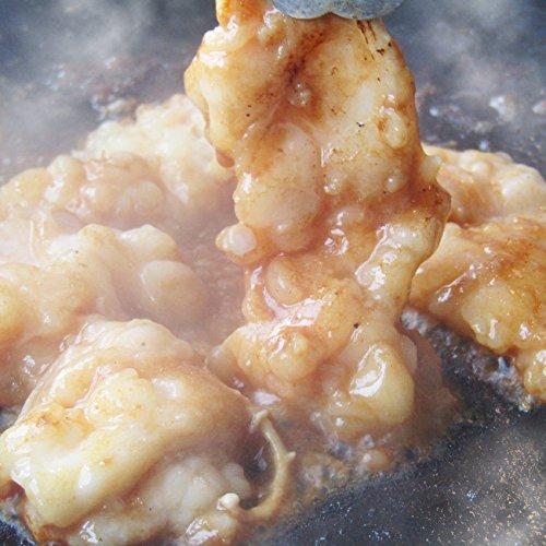 【冷凍 】牛テッチャン タレ漬けホルモン(シマチョウ) 250g 焼肉用 買えば買うほどオマケ付き  お試し