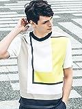 (アバハウス) ABAHOUSE ハイゲージインターシャ配色ニットTシャツ 00360041012