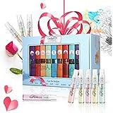 9 Pcs Mini Fragrances Gift Set, LuckyFine 9 Scent City Perfume Set Spray Gift Set for Women Girls Christmas Gift Set