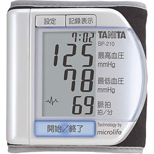 タニタ 手首式デジタル血圧計 【けつあつけい てくび ヘルス...