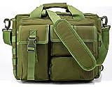 Rebotranko タクティカル ショルダーバッグ ビジネスバッグ パソコン手提げバッグ 多機能迷彩手提げバッグ 旅行/出張/キャンプ/通勤戦術鞄 大容量