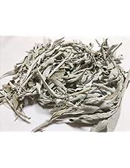 ホワイトセージ 100g 有機栽培 浄化 枝付き 完全密封 乾燥剤入り カリフォルニア産 お香 スピリチュア