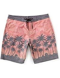 (ラウンドトゥリーアンドヨーク) Roundtree & Yorke メンズ 水着?ビーチウェア 海パン Printed Palms 9' Board Shorts [並行輸入品]