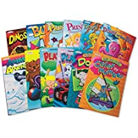 Coloring and Activity Books (pack of 12) by KAPPA MAPS [並行輸入品]
