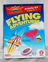 SUMMER VACATION: FLYING ADVENTURES ACTIVITY KIT - 3 KITS IN 1 [Toy]