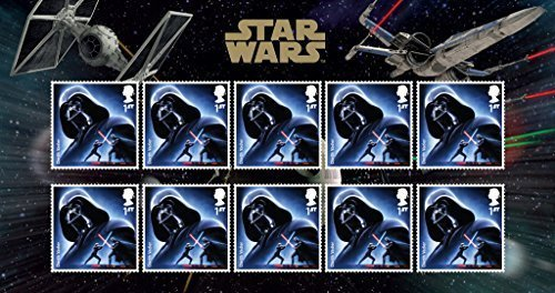 Star Wars The Force Awakens Darth Vader Royal Mail Collectible Stamps [並行輸入品]