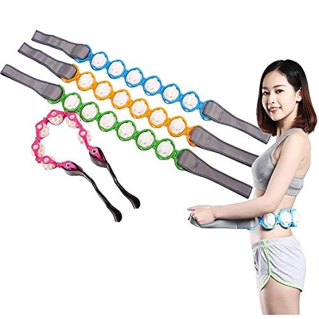 粘性の恩赦起こりやすいNew neck waist back roller massager shoulder back massage equipment shoulder massager