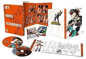 【Amazon.co.jp限定】僕のヒーローアカデミア Vol.3(初回生産限定版)(各巻購入特典:場面写ブロマイド付)(全巻購入特典:「描き下ろし全巻収納BOX」引換シリアルコード付) [Blu-ray]