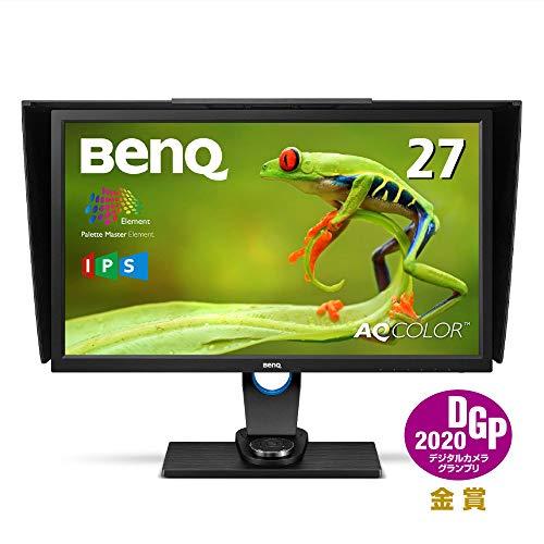 BenQ カラーマネージメントモニター ディスプレイ SW2700PT 27インチ/WQHD/IPS/DisplayPort,HDMI,DVI搭載/...