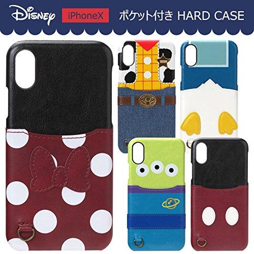 【カラー:ミニーマウス】iPhoneX ディズニー キャラク...