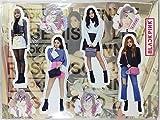 BLACK PINK (ブラックピンク)/ミニチュア 等身大パネル(卓上スタンドPOP/ミニパネル)セット - Standing Paper Doll (TradePlace K-POPグッズ/韓国製)