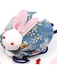 (ライチ) Lychee 兎 匂い袋 香り袋のみ 手作り 和風 可愛い おしゃれ ランダム色