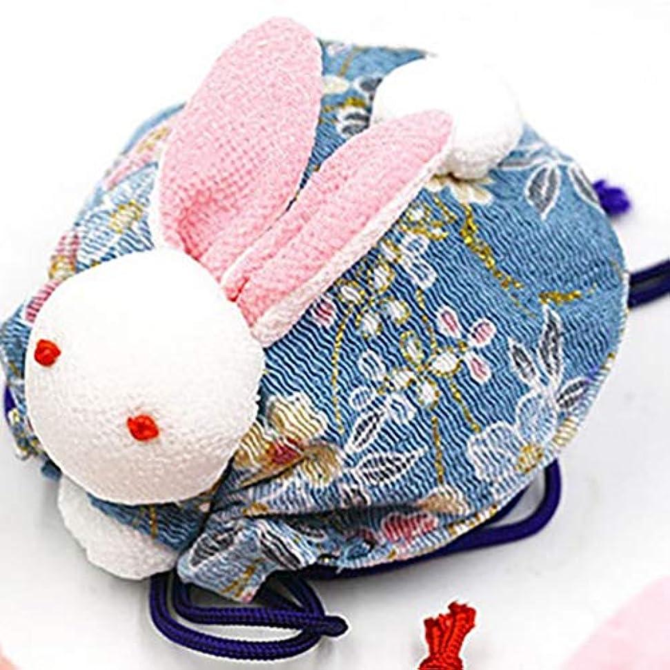 提供するストライプ破壊的な(ライチ) Lychee 兎 匂い袋 香り袋のみ 手作り 和風 可愛い おしゃれ ランダム色