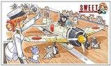 スイート 1/144 零戦21型 空母戦闘機隊の飛行甲板セット プラモデル 14139