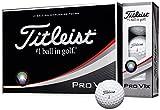 TITLEIST(タイトリスト) ゴルフボール Pro V1 X 4ピース(ダブルナンバー) 12個入り ホワイト T2045S-LEJ