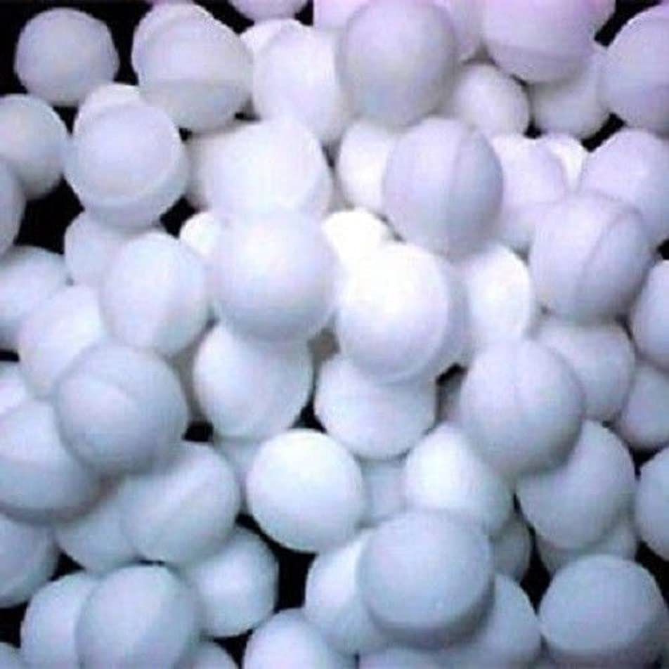 曲げる効果キャッチNaphthalene Balls, Moth Balls,snow White,toilets,cupboards,books,cloth Mothballs- 50 Balls 100g Pack by Eagle...