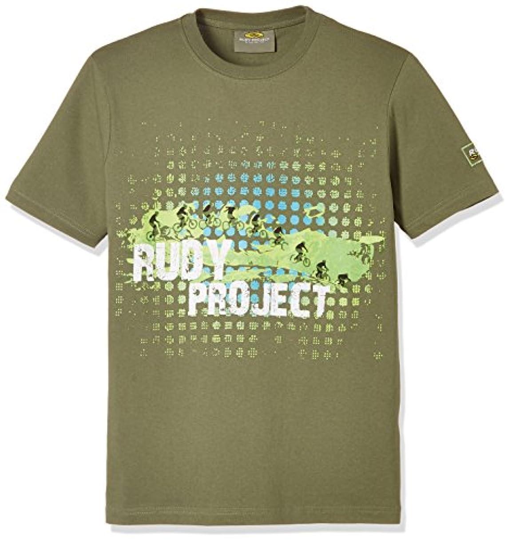 生態学崖フラスコRUDY PROJECT(ルディプロジェクト) Tシャツ ナジャグリーン M 0815-RP159993