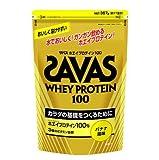 SAVAS ザバス ホエイプロテイン100 357g(約17食分) CZ7351 バナナ風味