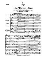 Ralph Vaughan Williams: The Turtle Dove. Partitions pour Baryton, SATB