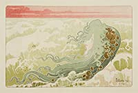 La Vagueヴィンテージポスター(アーティスト: Livemont )ベルギーC。1897 24 x 36 Signed Art Print LANT-63603-710